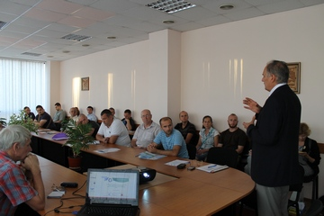 A professional training in the field of «Resource and energy...
