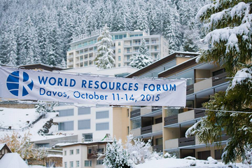 International Resource Forum-2015 in Davos...